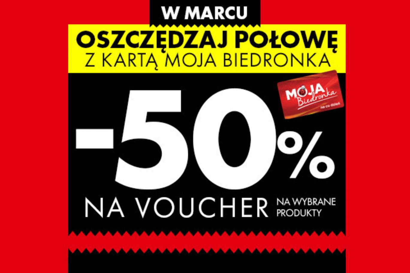 Miesiąc oszczędzania w Biedronce. Vouchery już czekają!