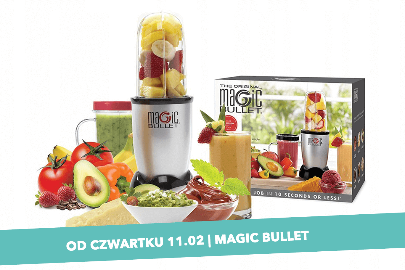 Blender Magic Bullet – odrobina magii od Biedronki i Mango