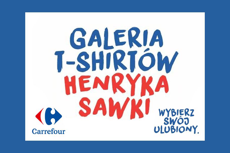Sawka w Carrefour! Nowa kolekcja T-shirtów z pracami popularnego rysownika