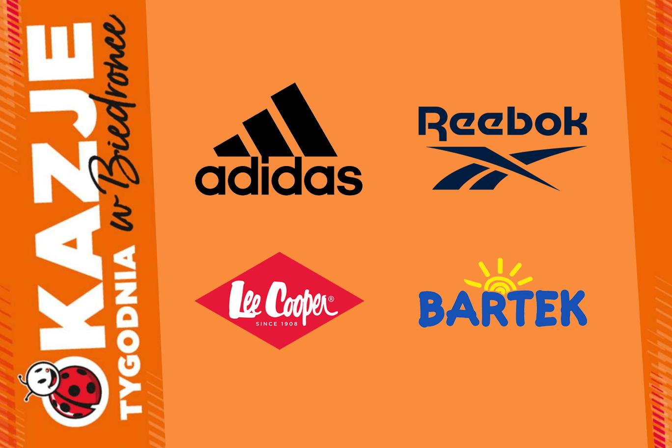Adidas, Reebok, Lee Cooper – znane marki w Biedronce