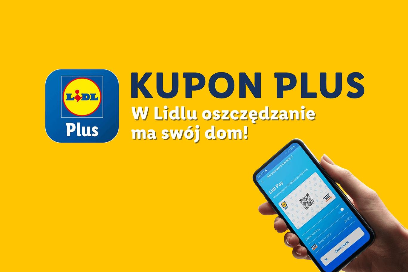 Kupuj z aplikacją Lidl Plus i odbieraj kupony promocyjne