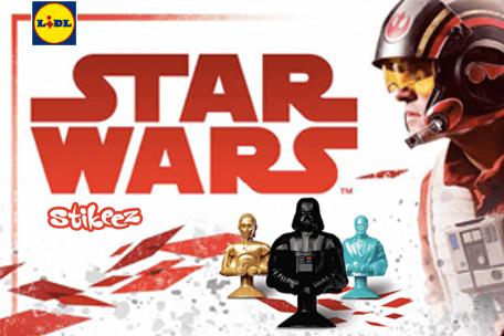 Figurki Stikeez STAR WARS przybywają!