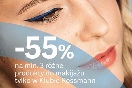 Wiosenna promocja Rossmanna -55% rabatu na kolorówkę!