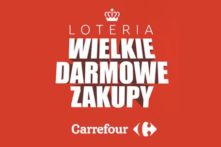 Loteria Wielkie Darmowe Zakupy w Carrefour!
