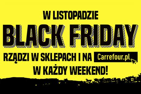 BLACK FRIDAY w Carrefour trwa cały miesiąc!