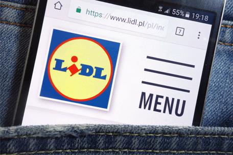 Lidl wprowadza rezerwację zakupów przez Internet