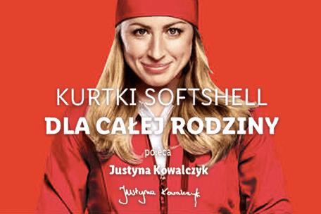 Justyna Kowalczyk poleca softshelle marki Crivit