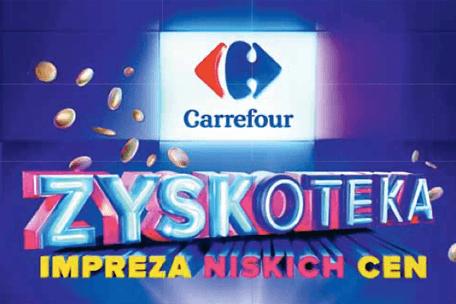 Impreza pełna promocji – Zyskoteka w Carrefourze!