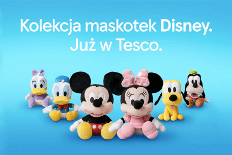 Tesco rozdaje maskotki Disney'a