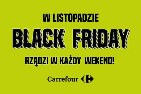 Wielka akcja promocyjna w Carrefourze – Black Friday w każdy weekend!