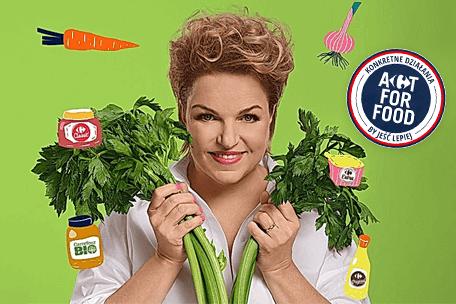 MądrzeJEMY z Katarzyną Bosacką – wspólny program Carrefoura i TVN-u o zdrowym odżywianiu