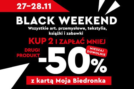 Black Week w Biedronce – wielkie rabaty i darmowa dostawa w Glovo