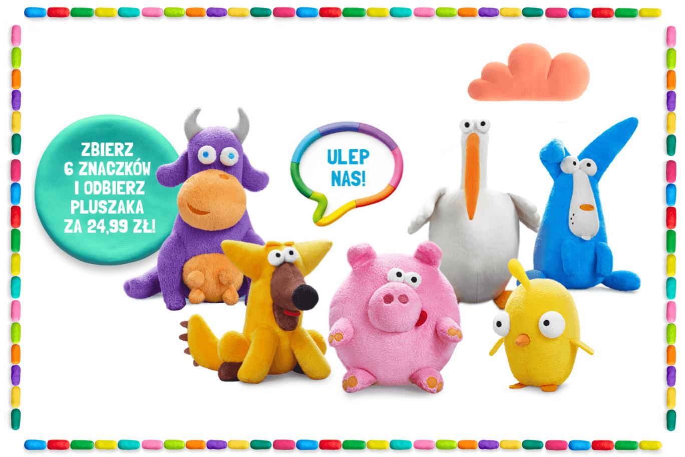 Masa kreatywności w Netto – zbieraj znaczki na maskotki i… samodzielnie lep zabawki!