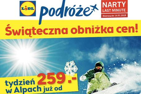 Na narty z Lidl Podróże