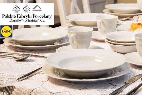 Kultowa porcelana z Ćmielowa i Chodzieży w Lidlu