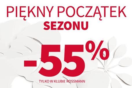 Promocja -55% na kolorówkę w drogeriach Rossmann!