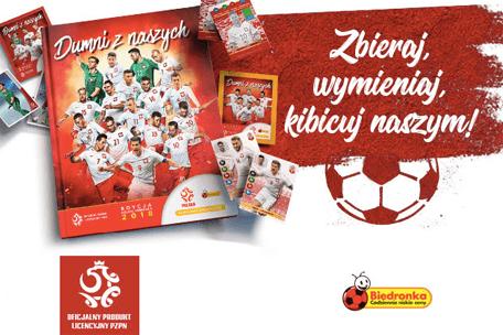 Kibicuj z Biedronką naszym piłkarzom!
