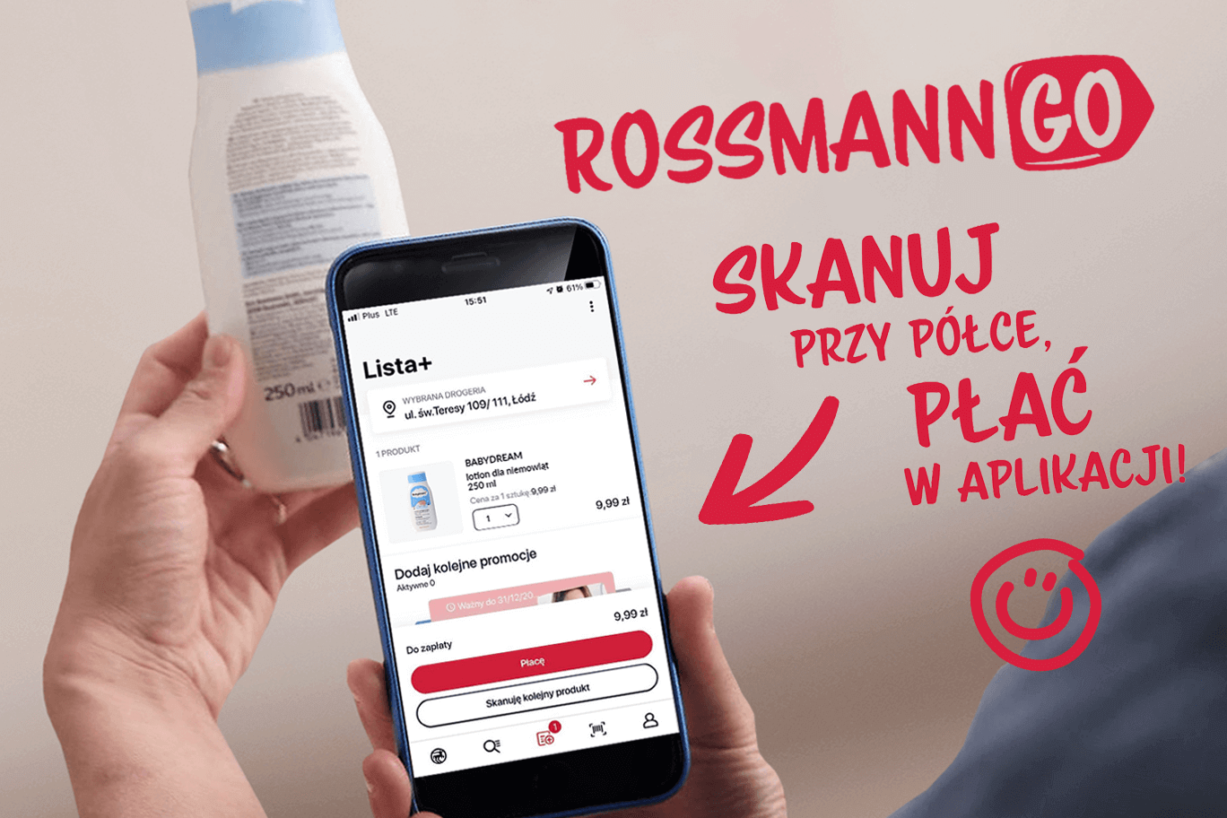 Rossmann Go – płać za zakupy bez kolejek